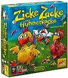 Zoch 601121800 Zicke Zacke Hühnerkacke, Kinderspiel des Jahres 1998