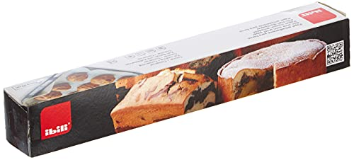 Ibili Backpapier Eureka 10 m X 29 cm, Papier, weiß, 35 x 5 x 5...