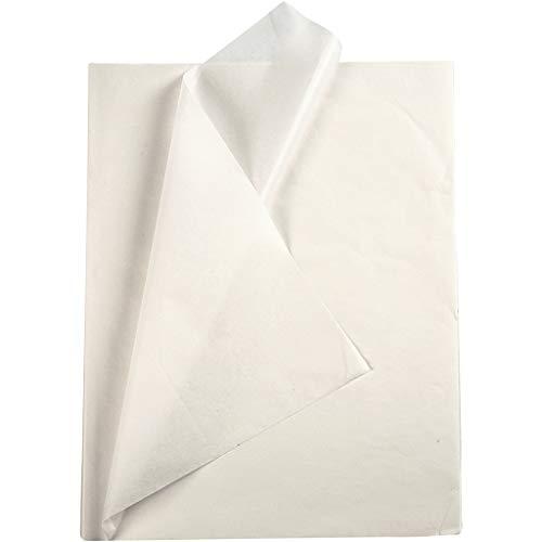 OSCrea Seidenpapier weiß - Seidenpapier zum Basteln und zur...