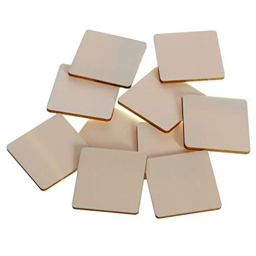 Holz Quadrate Holzscheiben - 1x1-60x60cm Streudeko Basteln Deko...