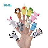 LivDeal Fingerpuppen [20-TLG]Baby Mitgebsel Kindergeburtstag...
