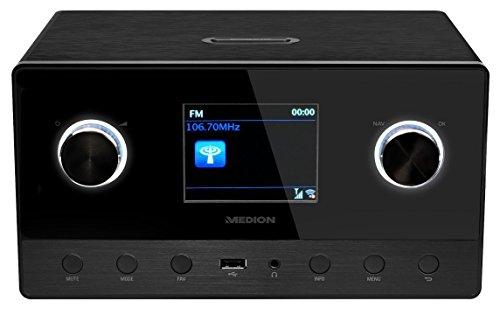 MEDION P85111 WiFi/Wlan Internet Radio mit 2.1 Soundsystem (DAB+,...