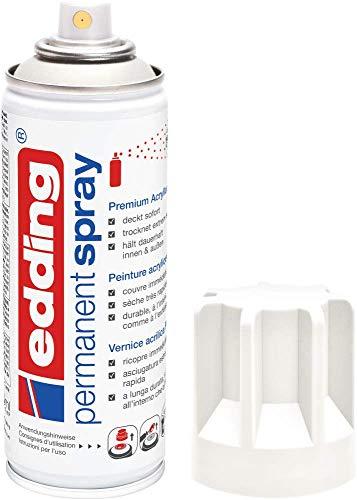 edding 5200 Permanent Spray - verkehrsweiß matt - 200 ml -...