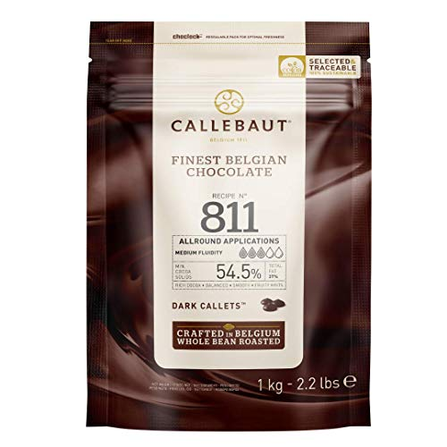 CALLEBAUT Receipe No. 811 - Kuvertüre Callets,...