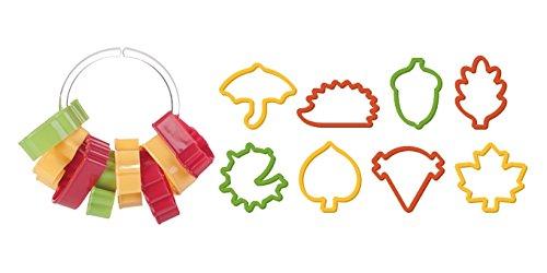 Tescoma Ausstecher, Plastik, rot/grün/gelb, 25 x 13 x 3.2 cm