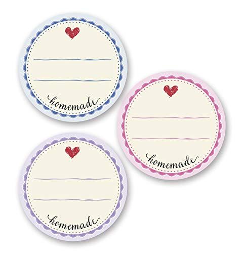 AVERY Zweckform 56819 Marmelade Sticker auf Rolle 50 Stück...
