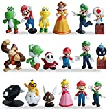 WENTS Super Mario Brothers Mini Figuren Set Geburtstags Party...