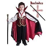 Spooktacular Creations Gotisch Vampir Kostüm, Vampirkostüm...