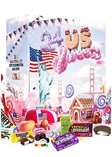 American Candy: Amerikanischer Süßigkeiten Adventskalender 2020