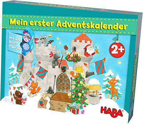 HABA 304903 Mein erster Adventskalender Ritterburg, für Kinder...