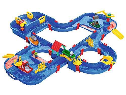 BIG Spielwarenfabrik 1660 AquaPlay - AquaPlay´nGo - 160x145x22cm...