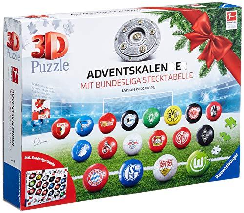 Ravensburger 3D Puzzle Bundesliga Adventskalender