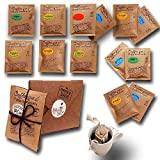 Life is You! BagBox ❤ 13 Coffee Bags (für Becher) aus 5 Fincas...