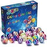 Joyjoz Galaxy Slime Schleim, 24 Pack Ei-Form Fluffy Slime Kit DIY...