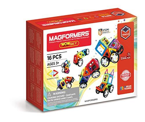 Magformers 707004 Wow Spielzeug Set Konstruktionsspielzeug
