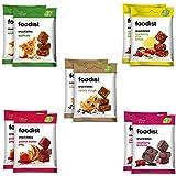 Foodist Snack Bite Probier-Mix Box auf Dattelbasis, Fruchtriegel...