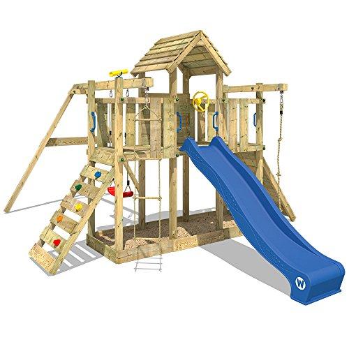 WICKEY Spielturm Klettergerüst Smart Twister mit Schaukel &...