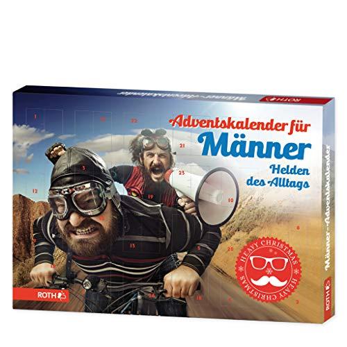 ROTH Männer-Adventskalender 'Helden des Alltags', gefüllt mit...