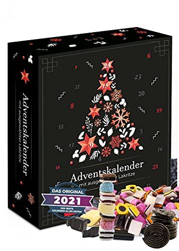 24 Lakritze im Weihnachtskalender