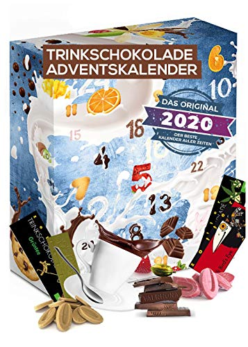 Trinkschokolade Adventskalender Schokolade zum Trinken I...