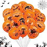 TaimeiMao Halloween Deko Set,60 Halloween Luftballons, Halloween...