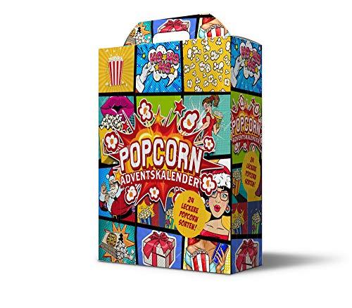 Adventskalender mit 24 verschiedenen Popcorn-Überraschungen