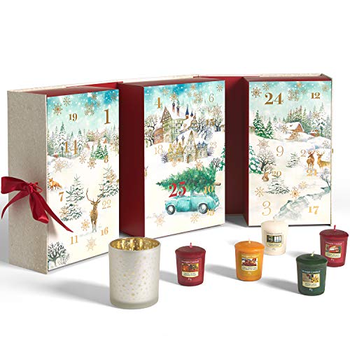 Yankee Candle Adventskalender 2020 in Buchform