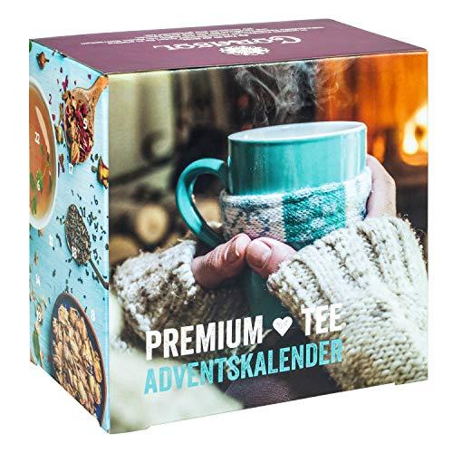 Premium Früchtetee-Adventskalender 2021 XL (loser Tee)