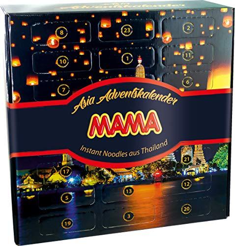 MAMA Adventskalender mit Instant Nudeln aus Thailand,...
