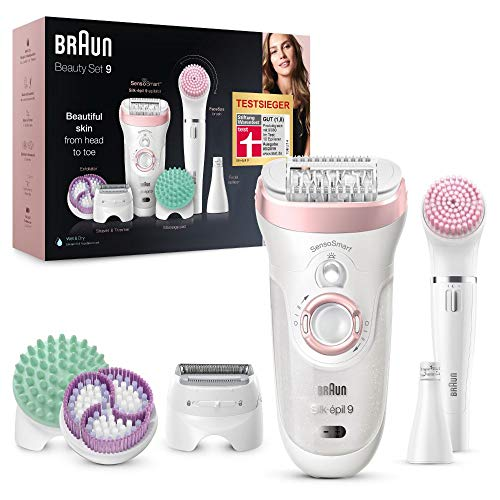 Braun Silk-épil Beauty-Set 9 9-995 Deluxe 9-in-1 Kabellose...
