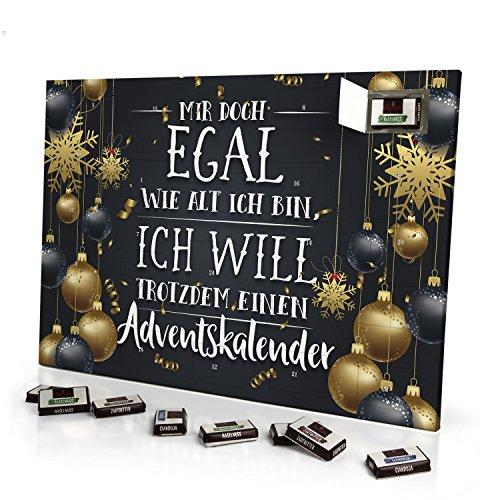 printplanet - Adventskalender Mir doch Egal wie alt ich Bin, ich...