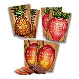 Getrocknete Früchte als 6er Set Fruchtpapier (6x 40g) – Frucht...