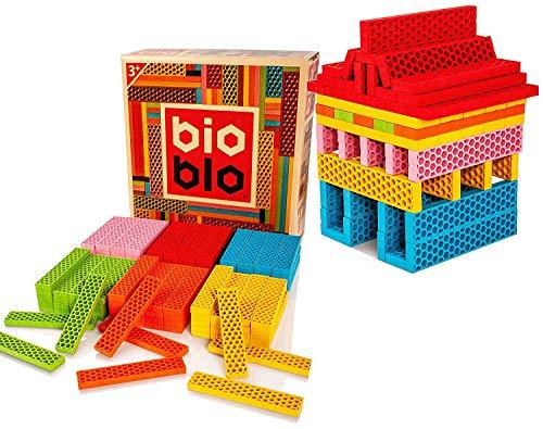 Bioblo Construction Blocks Set, Kinder ECO freundliche...
