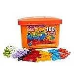 Mega Construx GJD23 Wonderbuilders Bausteinebox mit 480 Teilen,...