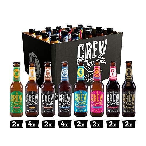 CREW REPUBLIC® Craft Bier Mix Probierset | World Beer Awards...