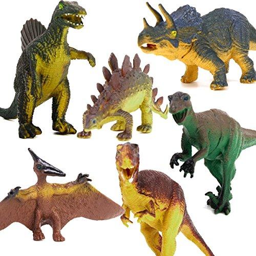 LEORX 6ST Dinosaurier Spielzeug pädagogisches Spielzeug für...