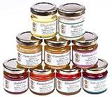 9x 50g Honig Probierset | Geschenkset – naturbelassener Honig...