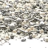 Streusel New York Mix weiss silber 180g | STREUSEL GLÜCK |...