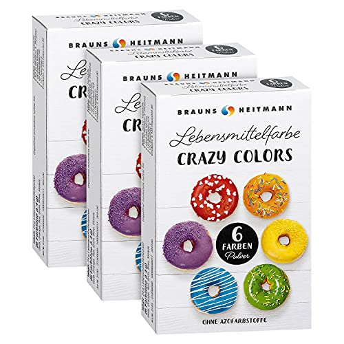 Brauns-Heitmann Crazy Colors Farbpulver: Farbe zum Einfärben von...