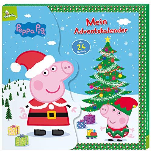 Peppa Pig Kalender-Box mit 24 Büchlein