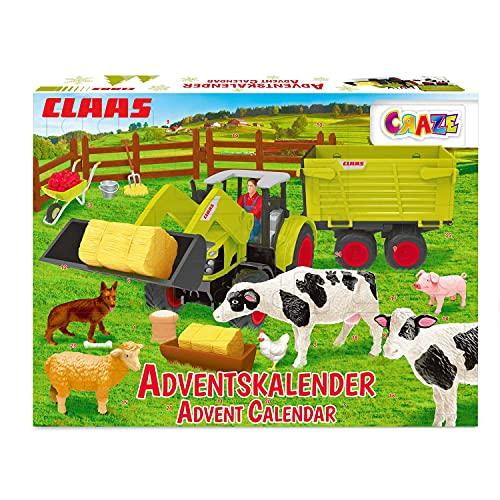 Bauernhof Spielfiguren Kalender für Kleinkinder