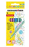 Eberhard Faber 551009 Glitzer Fasermaler in Pastell Farben im...