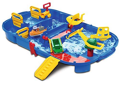 AquaPlay - LockBox - Wasserbahn als Transportkoffer mit 27...
