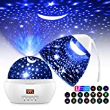 Sternenhimmel Projektor LED Projektor Lampe Kinder 360° Drehen...