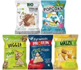 POPCROP Party-Mix Chips Box 8er Pack | 2xProtein, 2xVeggi,...