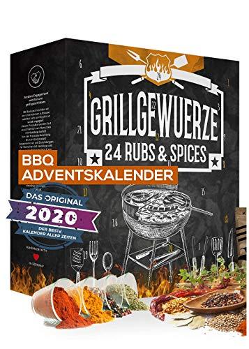 BBQ Adventskalender für Grillfans