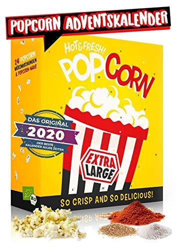 Popcorn Adventskalender 2020 I verschiedene Geschmacksrichtungen...
