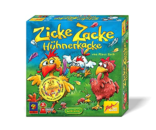 Zoch 601121800 Zicke Zacke Hühnerkacke – das rasante...