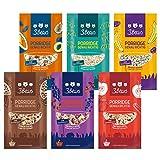 3Bears Porridge Fruchtiges Probier-Pack, 6 x 50g I Leckere...