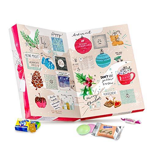 Der vegane Süßigkeiten Adventskalender